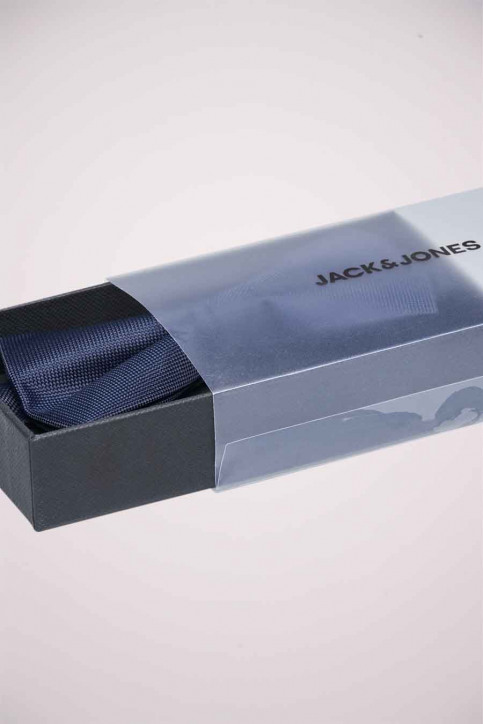ACCESSORIES BY JACK & JONES Strikjes blauw 12173737_NAVY BLAZER img2