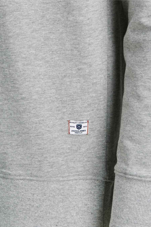 PREMIUM BLUE BY JACK & JONES Sweaters met ronde hals grijs 12174082_LIGHT GREY MELA img2