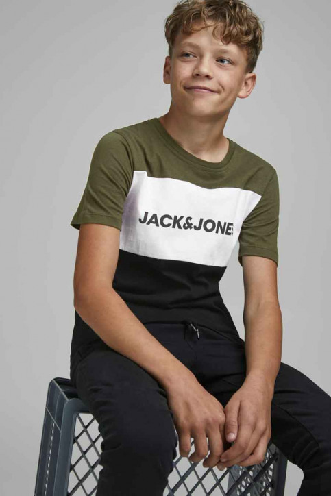 J & J Kids T-shirts manches courtes vert 12174282_FOREST NIGHT img4