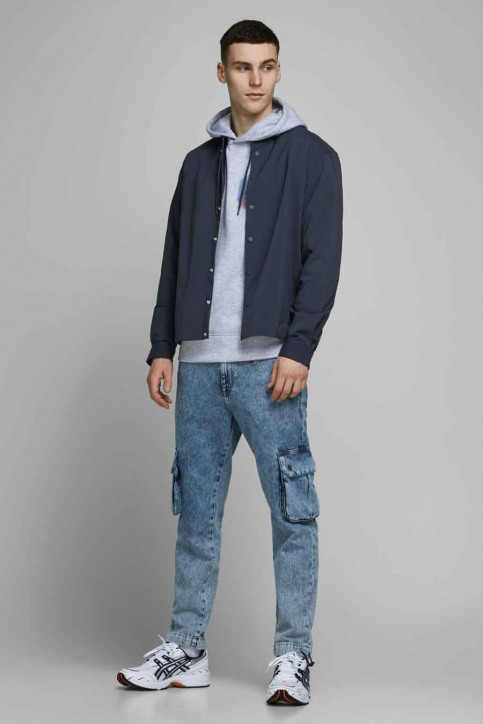 CORE BY JACK & JONES Hemden (lange mouwen) blauw 12174478_NAVY BLAZER  OV img1