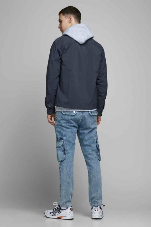 CORE BY JACK & JONES Hemden (lange mouwen) blauw 12174478_NAVY BLAZER  OV img3