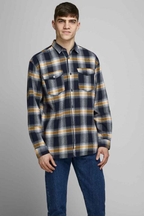 CORE BY JACK & JONES Hemden (lange mouwen) 12174481_NAVY BLAZER  RE img1