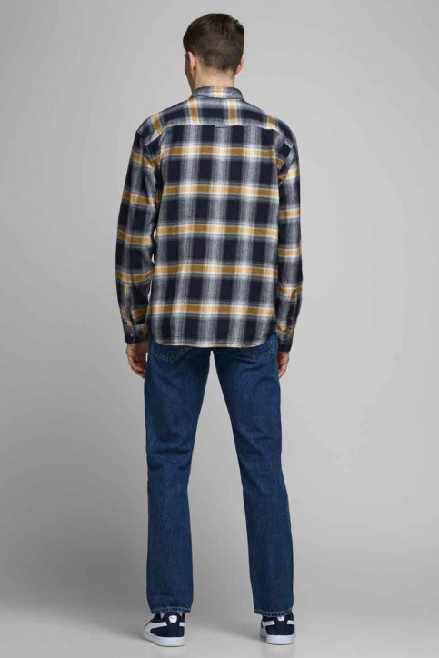 CORE BY JACK & JONES Hemden (lange mouwen) 12174481_NAVY BLAZER  RE img3