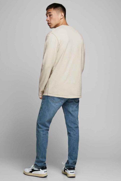 PREMIUM BLUE BY JACK & JONES T-shirts (lange mouwen) grijs 12174580_RAINY DAY REG img3