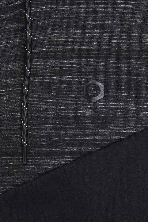 JACK & JONES Sweats avec capuchon noir 12174744_BLACK img5