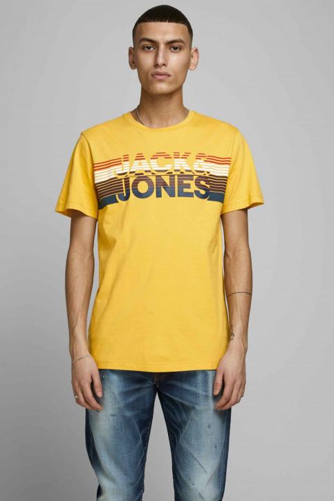 JACK & JONES T-shirts (manches courtes) jaune 12175079_SPICY MUSTARD img1