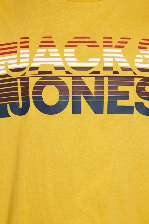 JACK & JONES T-shirts (manches courtes) jaune 12175079_SPICY MUSTARD img4
