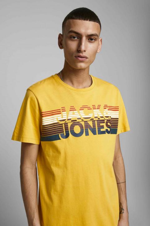 JACK & JONES T-shirts (manches courtes) jaune 12175079_SPICY MUSTARD img5