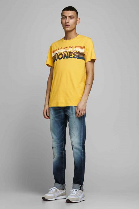 JACK & JONES T-shirts (manches courtes) jaune 12175079_SPICY MUSTARD img6