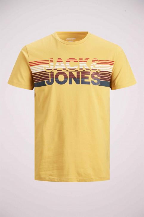 JACK & JONES T-shirts (manches courtes) jaune 12175079_SPICY MUSTARD img7