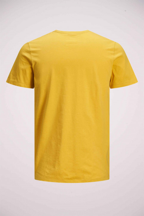 JACK & JONES T-shirts (manches courtes) jaune 12175079_SPICY MUSTARD img8