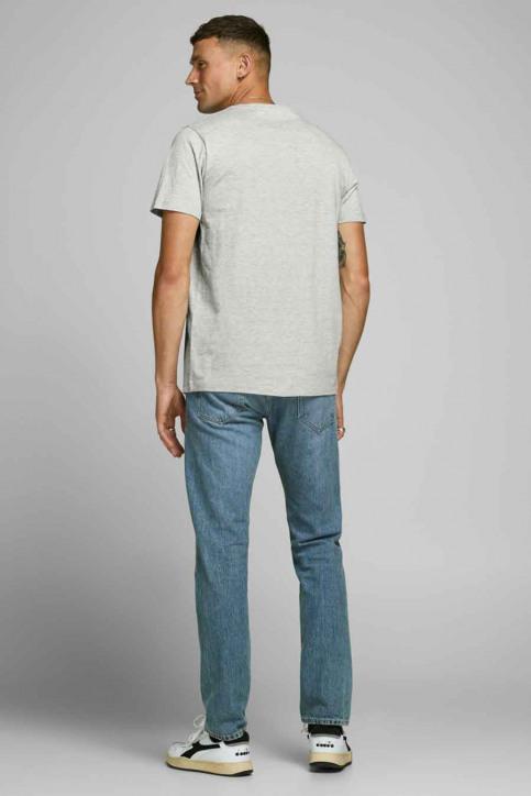 JACK & JONES T-shirts (manches courtes) gris 12175080_LIGHT GREY MELA img3