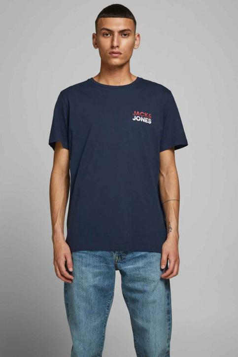 JACK & JONES T-shirts (manches courtes) bleu 12175080_NAVY BLAZER img1