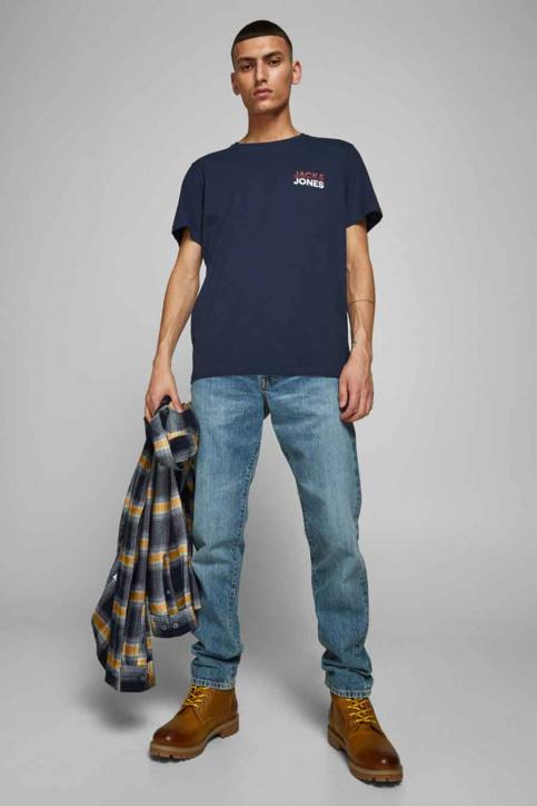 JACK & JONES T-shirts (manches courtes) bleu 12175080_NAVY BLAZER img2