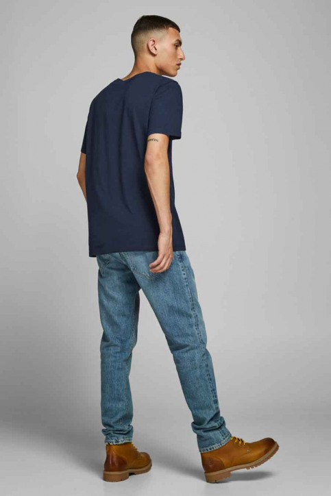 JACK & JONES T-shirts (manches courtes) bleu 12175080_NAVY BLAZER img3