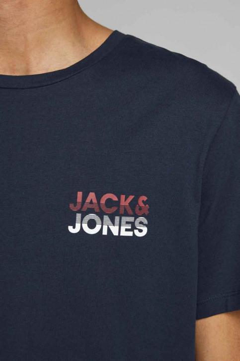 JACK & JONES T-shirts (manches courtes) bleu 12175080_NAVY BLAZER img5