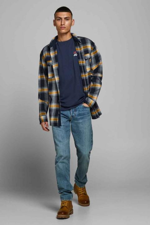 JACK & JONES T-shirts (manches courtes) bleu 12175080_NAVY BLAZER img6