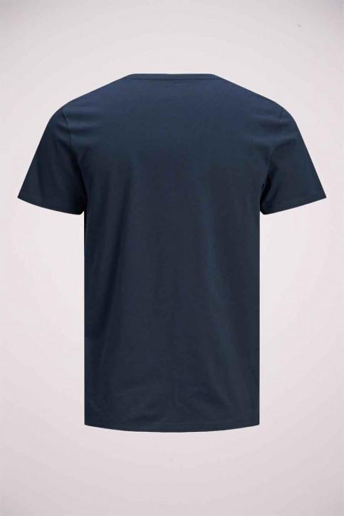 JACK & JONES T-shirts (manches courtes) bleu 12175080_NAVY BLAZER img7