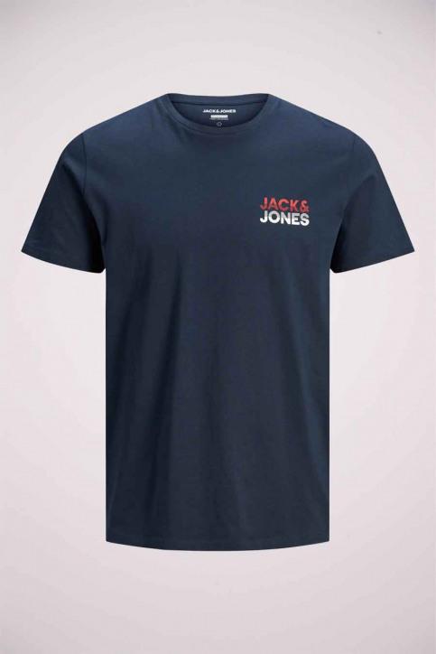 JACK & JONES T-shirts (manches courtes) bleu 12175080_NAVY BLAZER img8