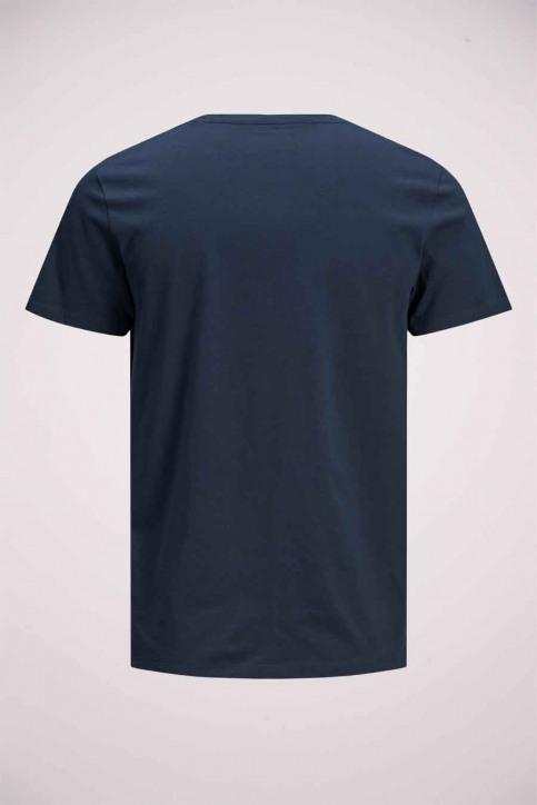 JACK & JONES T-shirts (manches courtes) bleu 12175080_NAVY BLAZER img9
