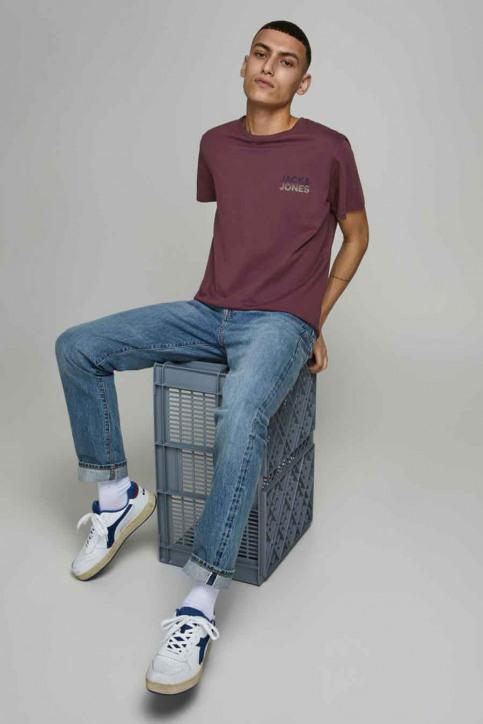 JACK & JONES T-shirts (manches courtes) rouge 12175080_PORT ROYAL img2