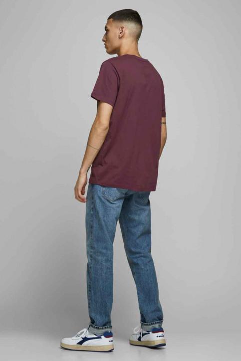 JACK & JONES T-shirts (manches courtes) rouge 12175080_PORT ROYAL img3