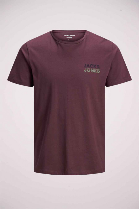 JACK & JONES T-shirts (manches courtes) rouge 12175080_PORT ROYAL img7