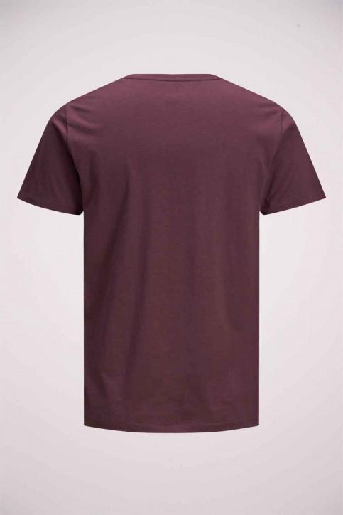 JACK & JONES T-shirts (manches courtes) rouge 12175080_PORT ROYAL img9