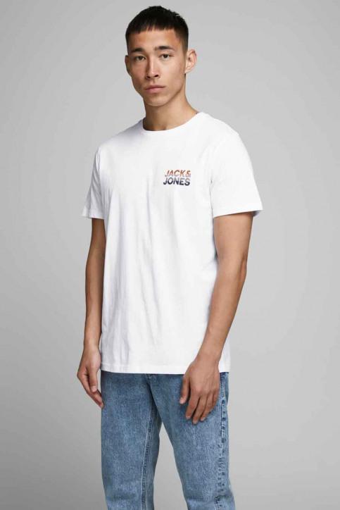 JACK & JONES T-shirts (manches courtes) blanc 12175080_WHITE img1