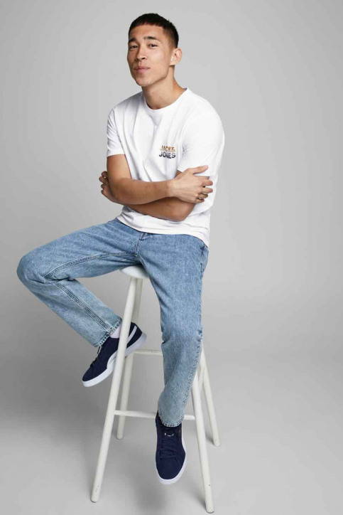 JACK & JONES T-shirts (manches courtes) blanc 12175080_WHITE img2