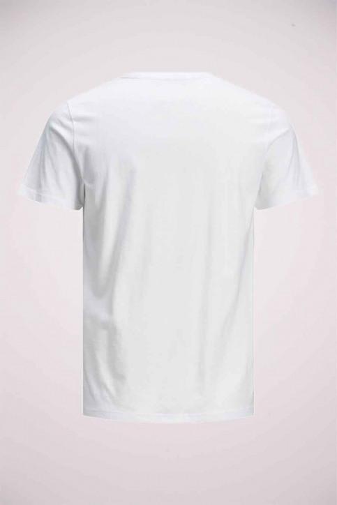 JACK & JONES T-shirts (manches courtes) blanc 12175080_WHITE img7
