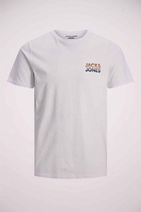 JACK & JONES T-shirts (manches courtes) blanc 12175080_WHITE img8