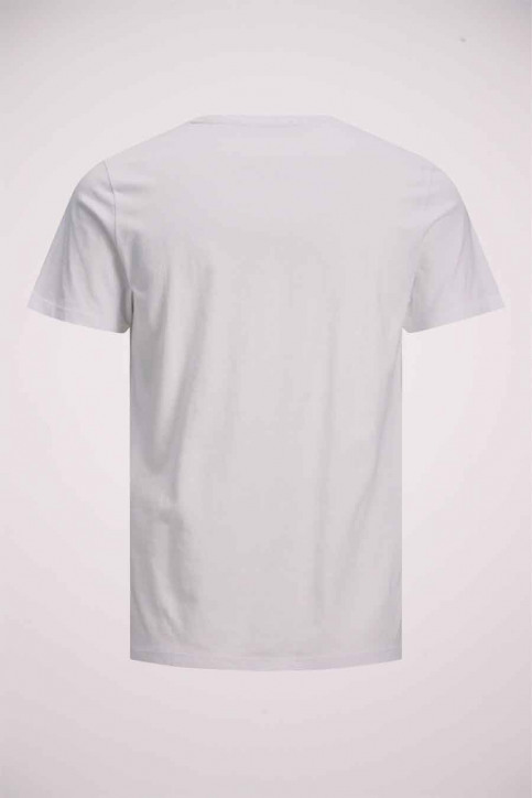 JACK & JONES T-shirts (manches courtes) blanc 12175080_WHITE img9