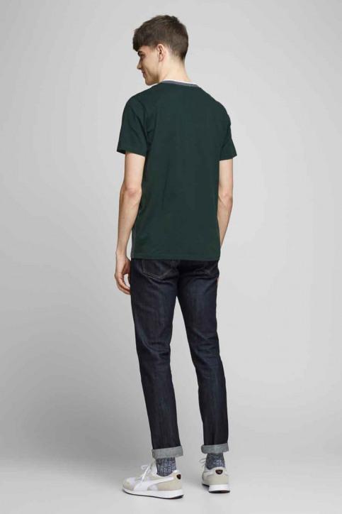 CORE BY JACK & JONES T-shirts (korte mouwen) groen 12175283_DARKEST SPRUCE img3