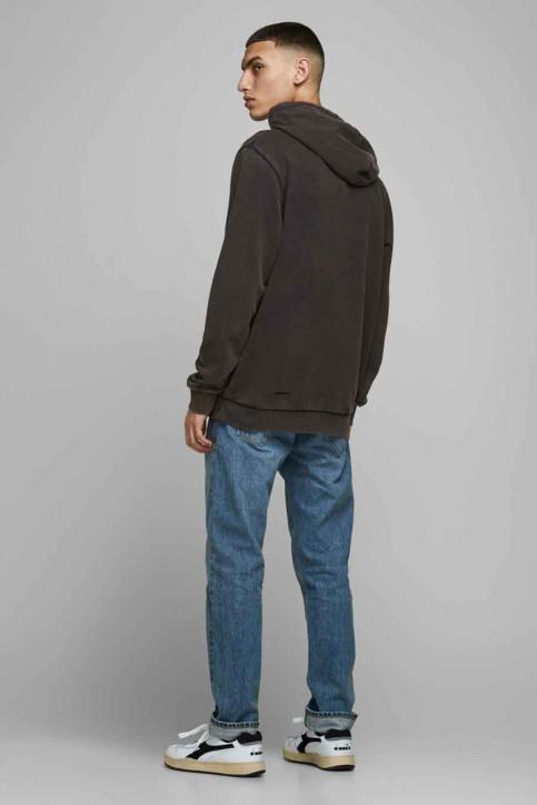 CORE BY JACK & JONES Sweaters met kap zwart 12175293_BLACK img3