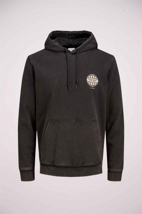 CORE BY JACK & JONES Sweaters met kap zwart 12175293_BLACK img7