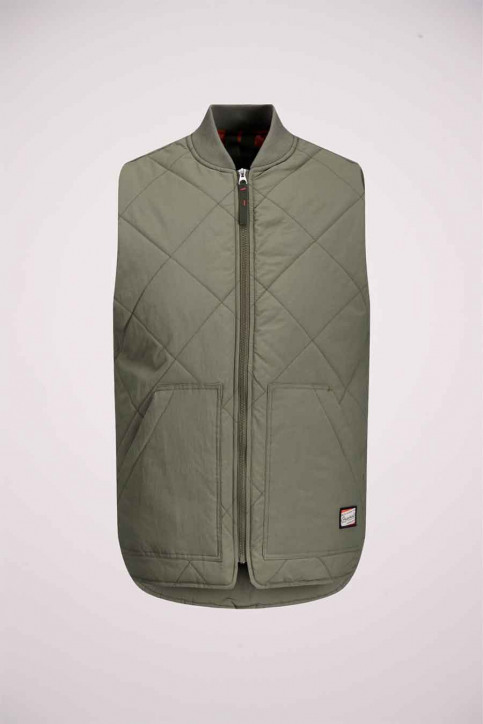 ORIGINALS BY JACK & JONES Bodywarmers groen 12175366_DUSTY OLIVE img7