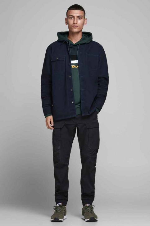 CORE BY JACK & JONES Sweaters met kap groen 12175563_DARKEST SPRUCE img2
