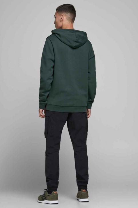CORE BY JACK & JONES Sweaters met kap groen 12175563_DARKEST SPRUCE img3