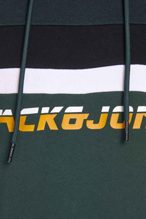 CORE BY JACK & JONES Sweaters met kap groen 12175563_DARKEST SPRUCE img5