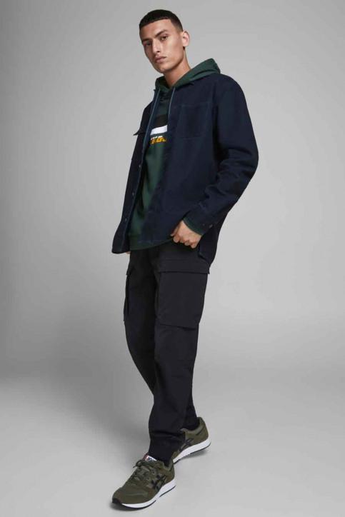 CORE BY JACK & JONES Sweaters met kap groen 12175563_DARKEST SPRUCE img6