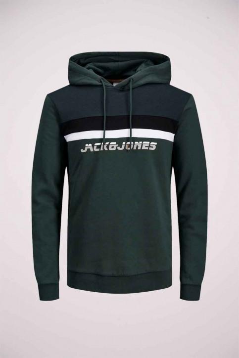 CORE BY JACK & JONES Sweaters met kap groen 12175563_DARKEST SPRUCE img7