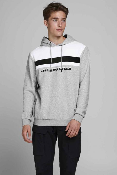 CORE BY JACK & JONES Sweaters met kap grijs 12175563_LIGHT GREY MELA img1
