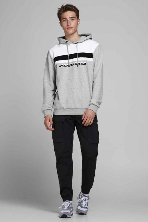CORE BY JACK & JONES Sweaters met kap grijs 12175563_LIGHT GREY MELA img2