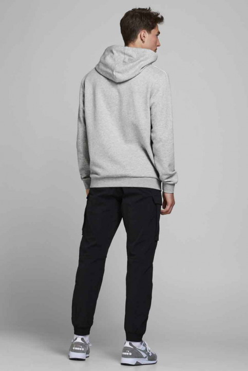 CORE BY JACK & JONES Sweaters met kap grijs 12175563_LIGHT GREY MELA img3