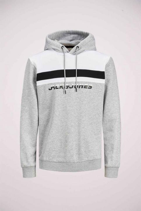 CORE BY JACK & JONES Sweaters met kap grijs 12175563_LIGHT GREY MELA img7