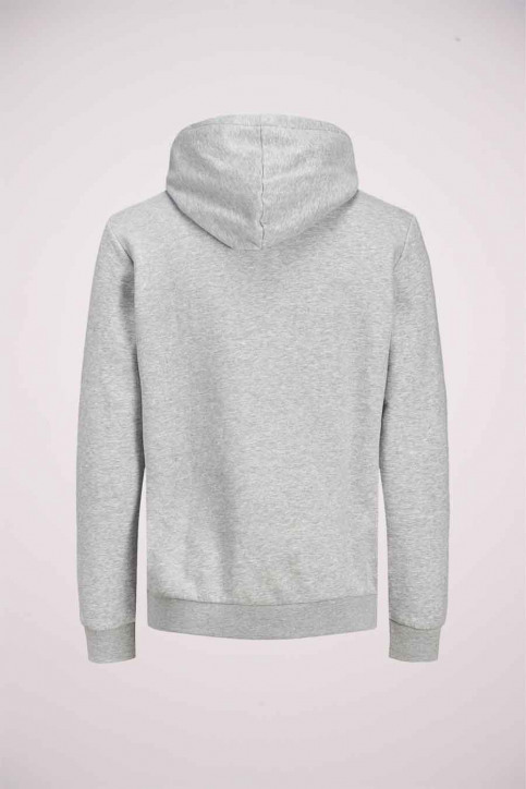 CORE BY JACK & JONES Sweaters met kap grijs 12175563_LIGHT GREY MELA img8