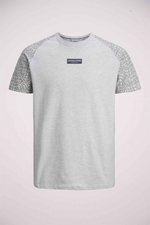 CORE BY JACK & JONES T-shirts (korte mouwen) grijs 12175717_LIGHT GREY MELA img1