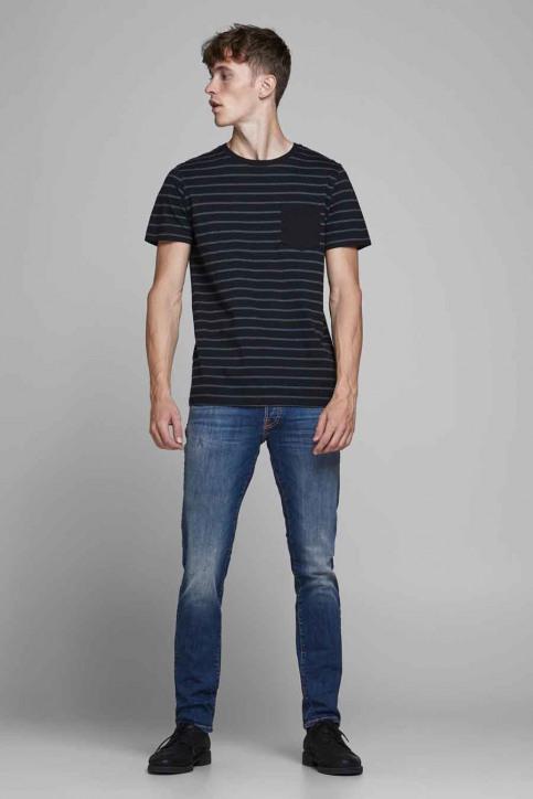 JACK & JONES JEANS INTELLIGENC Jeans slim denim 12175888_BLUE DENIM img2