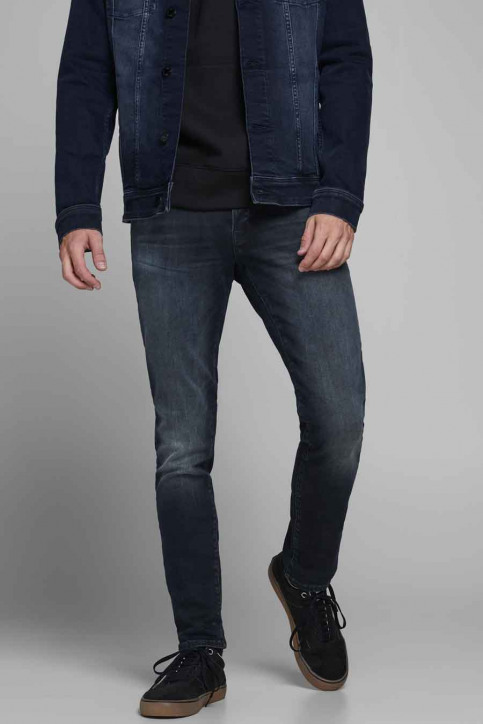 JACK & JONES JEANS INTELLIGENC Jeans slim denim 12175893_BLUE DENIM img1